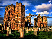 Great Outdoors Paintings - Lindisfarne Priory by Dean Wittle