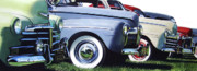Antique Automobile Originals - Line Up by Denny Bond