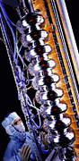 Resonator Metal Prints - Linear Accelerator Metal Print by David Parker