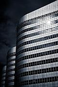 Architecture Metal Prints - Lines and Curves Metal Print by David Bowman