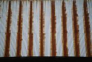 Cooperstown Posters - Lines Of Rust Make A Bold Pattern Poster by Stephen St. John