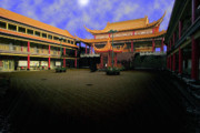 Vancouver Photo Originals - Lingyen Mountain Temple 21 by Lawrence Christopher