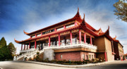 Vancouver Photo Originals - Lingyen Mountain Temple 30 by Lawrence Christopher