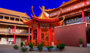 Lingyen Mountain Temple 32 Print by Lawrence Christopher