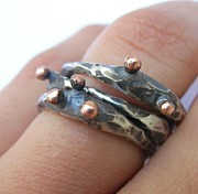 Bridge Jewelry - Links Ring by Teresa Arana