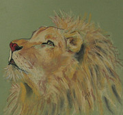 Mane Pastels - Lion Hearted by Cori Solomon