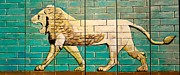 Iraq Conflict Prints - Lion of Babylon Print by Unknown - Local Iraqi National