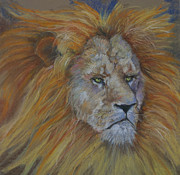 Revelation Pastels - Lion of Judah by Ann Lukesh