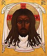 Saint John Coltrane. Black Christ Religion Paintings - Lion of Judah by Mark Dukes