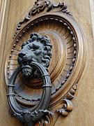 Door Knockers And Handles - Lion of the Sun side by Edan Chapman