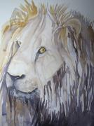 Loose Paintings - Lion On The Loose by Linda Franklin