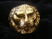 Lion Jewelry - Lion Ring by Jade East  Designs