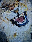 Ken Day - Lion Snarling