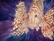 Lionfish Print by Tanya L. Haynes - Printscapes
