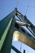 Lions Gate Bridge Prints - Lions Gate Bridge  Print by Joseph G Holland