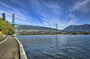 Lions Gate Bridge  Print by Mauro Celotti