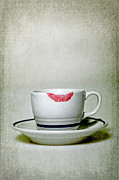Cup Photos - Lip Marks by Joana Kruse