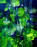 Liquid Leaves Print by Terril Heilman