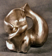 Form Sculptures - Liquid Silver by Lonnie Tapia