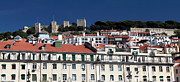Pedro Framed Prints - Lisbon Castle Hill Framed Print by John Rizzuto