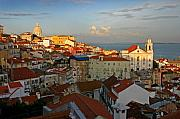 Hunt Metal Prints - Lisbon Metal Print by Skip Hunt