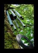 Wind Chimes Prints - Listen To The Wind Print by Jane Alexander