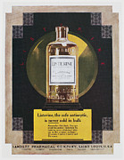 Antiseptic Framed Prints - Listerine Ad, 1925 Framed Print by Granger