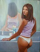 Toilet Painting Originals - Listerine by Paez De Pruna