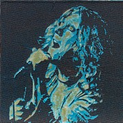 Robert Plant Mixed Media - Literally Robert Plant by Gary Hogben