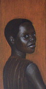 Africa Pastels Originals - Little Africa by Alexander Savich