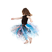 Little Ballerina Print by Cindy Singleton