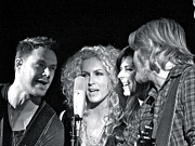 Country Music Town Prints - Little Big Town Print by Eve Spring