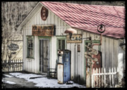 Historic Country Store Posters - Little Bit o Luck Poster by Judy Knesel