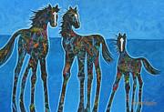 Little Blue Print by Lance Headlee