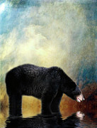 Bears Digital Art - Little Boy Lost by Lois Bryan