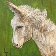 Burro Mixed Media - Little Burro II by Lorrie T Dunks