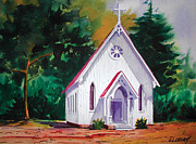 Chuck Creasy - Little Country Church