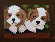 Puppies Originals - Little Fur Babies by Brenda Slaughter