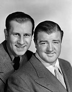 Publicity Shot Photos - Little Giant, From Left Bud Abbott, Lou by Everett