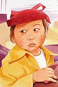Judy Swerlick - Little Girl in Red Hat