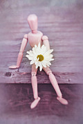 Doll Posters - Little Gitft For You Poster by Priska Wettstein