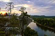 Jeka World Photography Prints - Little Hawksbill Crag Sunset Print by Jeka World Photography