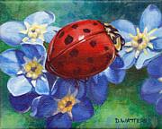 Little Lady Print by Darlene Watters