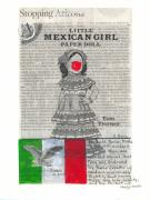 Little Girls Mixed Media - Little Mexican Girl by Ricky Sencion
