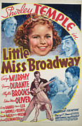 Child Star Posters - Little Miss Broadway, Clockwise, Edna Poster by Everett