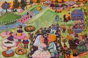 Carol Shumas Art - Little People by Carol Shumas