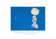 Collaboration Posters - Little Prince Poster by Jane Melgaard