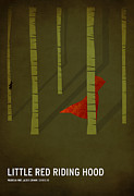 Color  Posters - Little Red Riding Hood Poster by Christian Jackson