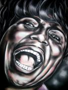 Richard Pastels - Little Richard by Zach Zwagil