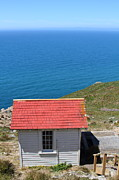 Headlands Photos - Little Shack At The Point Reyes Lighthouse in California . 7D16020 by Wingsdomain Art and Photography